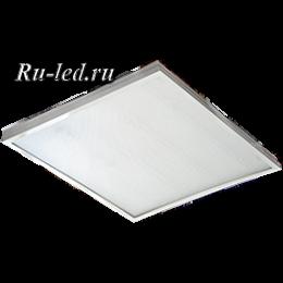 светодиодные лед панели создают равномерное мягкое освещение Ecola LED panel универс. (без ступеньки) панель с драйвером внутри 36W 220V 4200K Призма 595x595x19