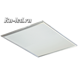 Тонкие светодиодные панели надежно и эффективно защищает зрительное здоровье человека. Ecola LED panel тонкая панель без драйвера 40W 220V 2700K Матовая 595x595x9