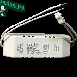 драйвер для светодиодной панели в магазине Mr.Volt Ecola LED panel Power Supply 36W 220V драйвер для встраив. панели с драйвером внутри PF=0,8