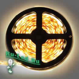 сколько ватт светодиодная лента вы сможете узнать и оригинально декорировать интерьер дома, офиса или любого коммерческого помещения Ecola LED strip 220V STD 7,2W/m IP68 14x7 30Led/m 2800K 12Lm/LED 360Lm/m лента 10м