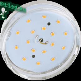 экола gx53 купить для освещения помещений самого разного назначения Ecola GX53 LED 8,5W Tablet 220V 4200K прозрачное стекло (композит) 27x75