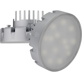 лампа под gx53 обеспечит любому помещению яркое и насыщенное освещение Ecola GX53 LED Premium 14,5W Tablet 220V 6400K (большой алюм. радиатор) 75x41