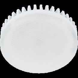 gx53 купить в спб, которая отличается высоким качеством и современным дизайном Ecola GX53 LED Premium 8,5W Tablet 220V 6000K матовое стекло (ребристый алюм. радиатор) 27x75