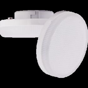 Светодиодная лампа экола gx53 - это непревзойденная энергоэффективность Ecola Light GX53 LED 6,0W Tablet 220V 4200K 27x75 матовое стекло 30000h