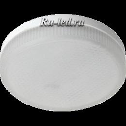 led gx53 8w позволит вам создать в своем доме атмосферу уюта и комфорта Ecola Light GX53 LED 8,0W Tablet 220V 2800K 27x75 матовое стекло 30000h