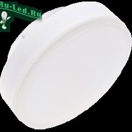 Светодиодные лампы gx53 220v Ecola обеспечат полноценное освещение в доме или офисе Ecola Light GX53 LED 11,5W Tablet 220V 4200K 27x75 матовое стекло (композит) 30000h