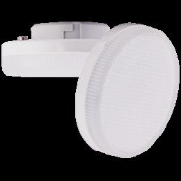 Цоколь gx53 купить для встраиваемых и накладных светильников Ecola GX53 LED 6,0W Tablet 220V 6000K матовое стекло (композит) 27x75