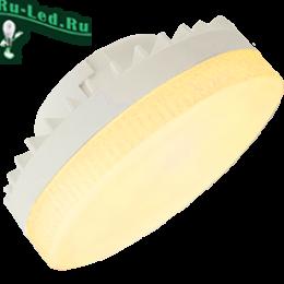 Экола лампа светодиодная gx53 создает уникальное по оттенку освещение Ecola GX53 LED 10,0W Tablet 220V золотистая матовое стекло (композит) 27x75