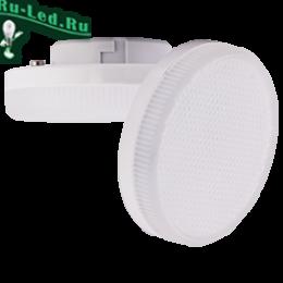 led gx53 12w может использоваться в большинстве моделей светильников Ecola GX53 LED Premium 12,0W Tablet 220V 4200K матовое стекло (композит) 27x75