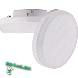 Надежная и экономичная лампа ecola gx53 наполнит ваш дом светом и уютом Ecola GX53 LED Premium 6,0W Tablet 220V 2800K матовое стекло (композит) 27x75