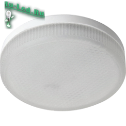 Купить лампы gx53 за экономичность и долгий срок службы Ecola GX53 LED Premium 8,5W Tablet 220V 4200K матовое стекло (композит) 27x75