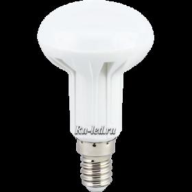 led лампа e14 r50 для освещения комнат шкафов витрин Ecola Light Reflector R50 LED 4,0W 220V E14 4200K 85x50
