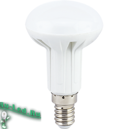 лампа форма груша для самого взыскательного потребителя Ecola Light Reflector R50 LED 7,0W 220V E14 4200K (композит) 85x50 (1 из ч/б уп. по 4)