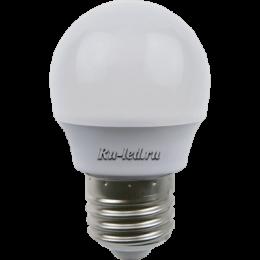 Интернет магазин светодиодных ламп для дома от компании Экола Ecola globe LED Premium 7,0W G45 220V E27 6500K шар (композит) 75x45