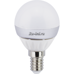 Светодиодные лампы для дома купить в Москве по отличной цене Ecola globe LED 7,0W G45 220V E14 6500K шар (композит) 82x45
