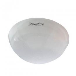 """накладной светильник GX53 IP65 Ecola Light GX53 LED ДПП 03-60-2 светильник """"Сириус"""" Круг накладной IP65 1*GX53 матовый белый 220х220х100"""