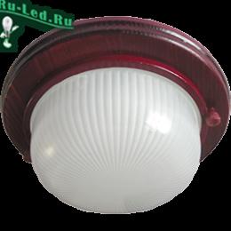 gx53 купить москва за неожиданно небольшую и приятную цену Ecola GX53 LED НБО-03-60-031 светильник Круг накладной IP65 дерево Вишня 1*GX53 матовый 220х84