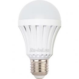 Лампа светодиодная led a60 e27 обладает большим радиатором для охлаждения Ecola Light classic LED Eco 7,0W A60 220V E27 4000K 110x60