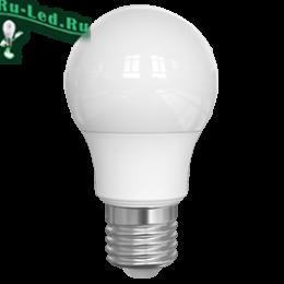 лампа светодиодная 7вт е27 эффективное и красивое решение вопросов освещения Ecola Light classic LED 7,0W A55 220V E27 4000K 100x55