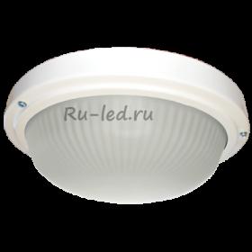 точечный светильник для ванной Ecola Light GX53 LED ДПП 03-18-103 светильник Круг накладной 3*GX53 матовое стекло IP65 белый 280х280х90
