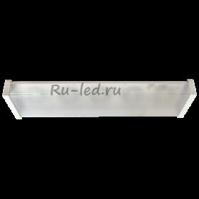 точечные светильники LED Ecola Light GX53 LED ДПО12-2х8-002 светильник прямоугольный накладной 5*GX53 матовый белый 638х165х70
