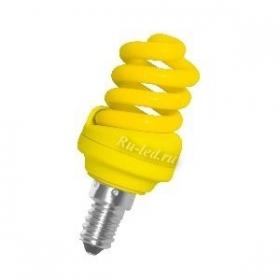 лампа желтого света
