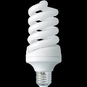 Z7DV20ECB лампы - свечи ecola spiral dimmable 20w e27 4100k 130x54