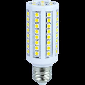 Лампа кукуруза светодиодная Е27 с хорошей мощностью и стильным дизайном Ecola Corn LED Premium 12,0W 220V E27 4000K кукуруза 108x41
