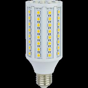 светодиодные лампы е27 2700к являются одними из наиболее востребованных Ecola Corn LED 17,0W 220V E27 2700K кукуруза 96LED 145x60