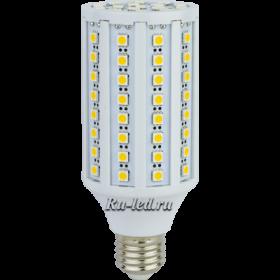 светодиодные лампы кукуруза Е27 только у нас цены доступные, а лампочки долговечные Ecola Corn LED Premium 17,0W 220V E27 4000K кукуруза 145x60