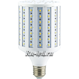 Лампа кукуруза светодиодная не способно перегореть от превышения напряжения Ecola Corn LED Premium 27,0W 220V E27 2700K кукуруза 150x83