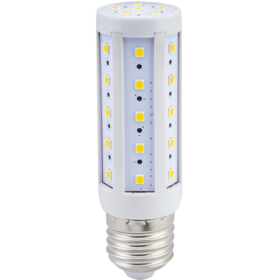Светодиодная лампа кукуруза Е27 купить, которая значительно превосходит обычную лампу Ecola Corn LED Premium 9,5W 220V E27 4000K кукуруза 105x30