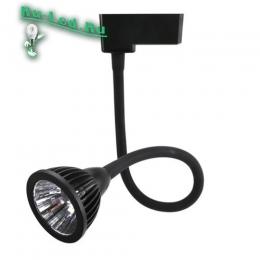 Недорогие трековые светильники имеют продолжительный срок службы и рационально расходуют потребляемую электроэнергию 034-7W-4000K-BK Трековый светильник (Нейтральный белый)