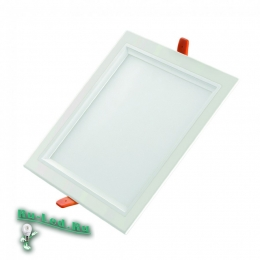 светильники встраиваемые в потолок квадратные актуальны, уместны и стильны в любой обстановке 308SQ-8W-4000K Встраиваемый светодиодный светильник (Нейтральный свет)