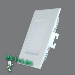 светильник точечный квадратный потолочный будет хорошо выполнять свое предназначение долгие годы 102SQ-12W-3000K Cветильник квадратный LED, 12W