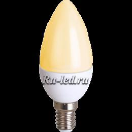 Светодиодные лампы цоколь e14 будет служить вам многие месяцы Ecola candle LED Premium 8,0W 220V E14 золотистая свеча (композит) 100x37