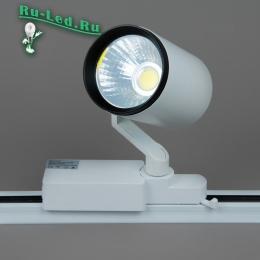 трековые светильники светодиодные led для точечного освещения помещений коммерческого плана с большой площадью 01-18W LED COB 4000K (NH) Трековый светильник (Нейтральный белый)