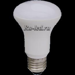 Лампа груша е27 обеспечит вам мощный направленный поток света Ecola Reflector R63 LED Premium 8,0W 220V E27 4200K (композит) 102x63