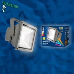 прожектор уличный купить в спб для организации качественной и красивой фасадной подсветки ULF-S01-20W/DW IP65 110-240В картон