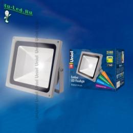 прожектор светодиодный 50 Вт уличный цена для эксплуатации в уличных условиях ULF-S01-50W/NW IP65 110-240В картон
