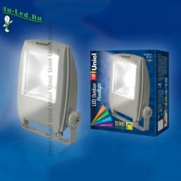 купить прожектор 10 вт с самыми высокими потребительскими свойствами ULF-S02-10W/DW IP65 110-240В GREY картон