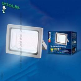 Прожектор светодиодный уличный ip65 предназначен для установки на открытом воздухе ULF-S04-30W/NW IP65 85-265В GREY картон