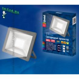 прожектор для освещения территории создает ощущение уюта и расслабляющую атмосферу ULF-F15-30W/WW IP65 185-240В SILVER