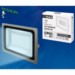прожектор led 100w ip65 надежно защищен от влаги и пыли ULF-F16-100W/DW IP65 185-240В SILVER