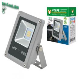 эффект прожектора при обустройстве прилегающей к дому территории ULF-Q510 10W/NW SENSOR IP65 170-250B SILVER картон