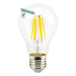 Цоколь лампочки е27 купить и наслаждаться ярким современным освещением Ecola classic LED Premium 10,0W A60 220-240V E27 2700K 360° filament прозр. нитевидная (Ra 80, 100 Lm/W, КП=0) 105x60