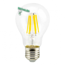 Лампочки цоколь е27 купить вы можете на нашем сайте на выгодных для вас условиях Ecola classic LED Premium 10,0W A60 220-240V E27 4000K 360° filament прозр. нитевидная (Ra 80, 100 Lm/W, КП=0) 105x60