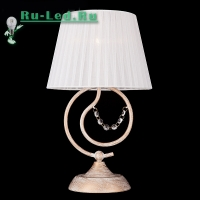 Настольная лампа 01005/1 белый с золотом