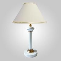 Настольная лампа Eurosvet Lorenzo 60019/1 глянцевый белый