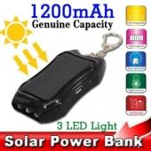 внешний аккумулятор с солнечной батареей  KBT000500
